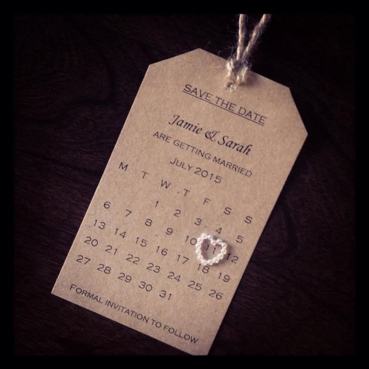 wedding invitation date wording etiquette%0A Save The Date  wedding  homemade  simplicity