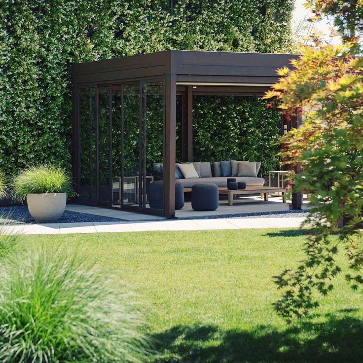"Frassinago op Instagram: ""Pergola bioclimatic #plants #outdoor #gardening #garden #design #landascape #archiproducts #archilovers #frassinago18 #exterior…"""