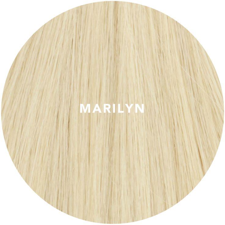 """""""MARILYN"""" Monroe Blonde hair extensions"""