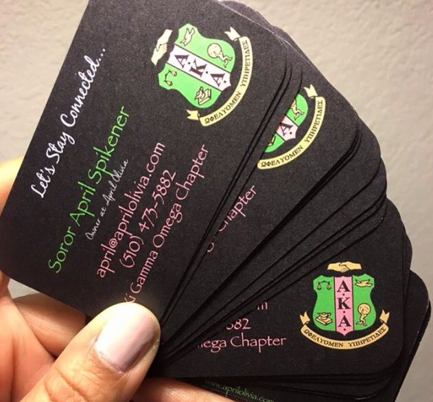 Networking cards. I like the idea and the design color on black background!