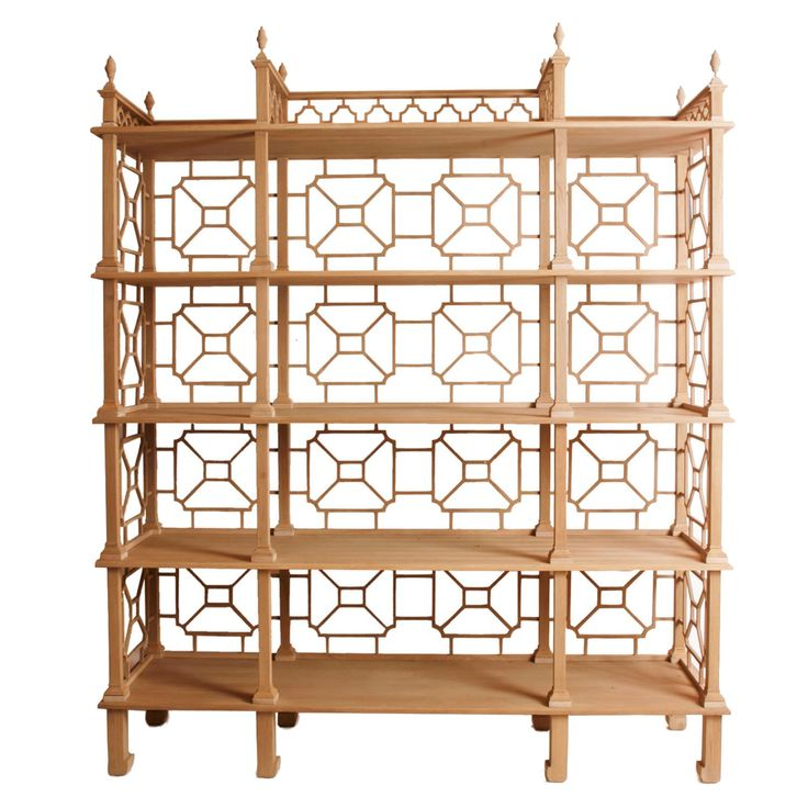 Buy Laurent Etagere by KB Bespoke by Kristen Buckingham - Made-to-Order designer Furniture from Dering Hall's collection of Rustic / Folk Traditional Transitional Shelving.