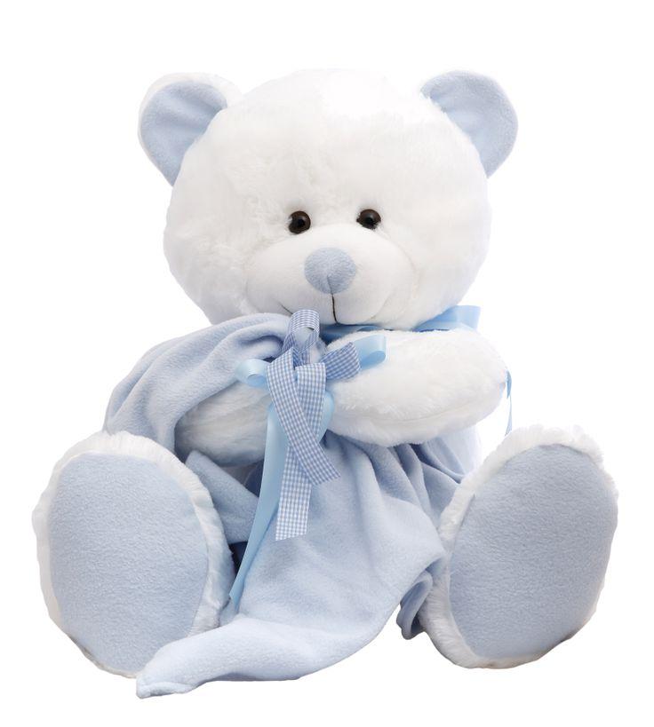 "Announce the new arrival with this Teddy Bear ""It's a Boyl !"" . Super soft and cute! #NewBaby #TeddyBear"