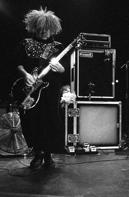 """Melvins live at Théâtre Corona, Montréal, 03/07/2012. Black and white film photography by François Carl Duguay. Order a 16"""" x 20"""" silverprint over at www.laligneaharde.com """"$40"""""""
