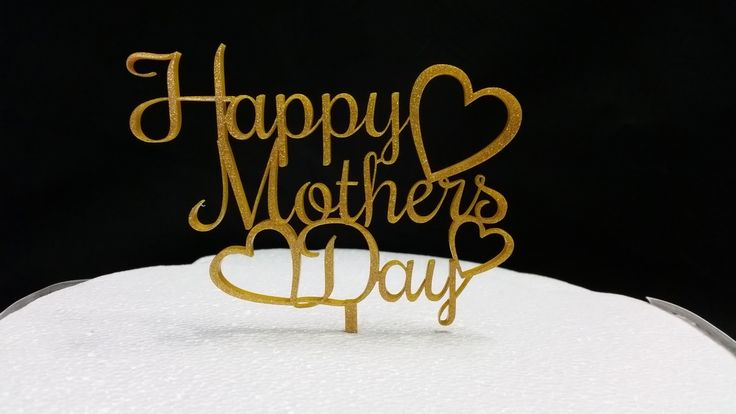 Mother's Day  Acrylic Cake Topper