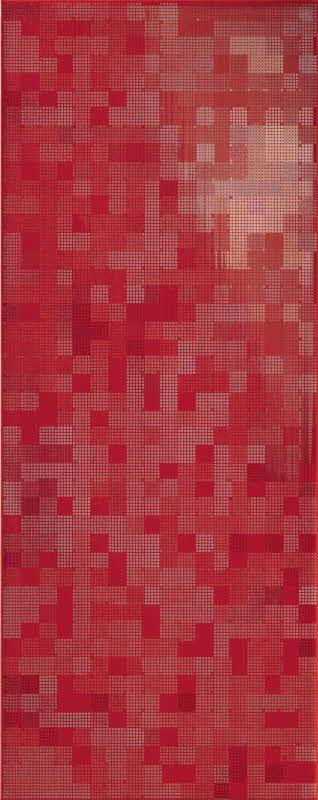 Swing seinälaattamallisto R22V I. Red, (20 x 50 cm). Värisilmä, www.varisilma.fi