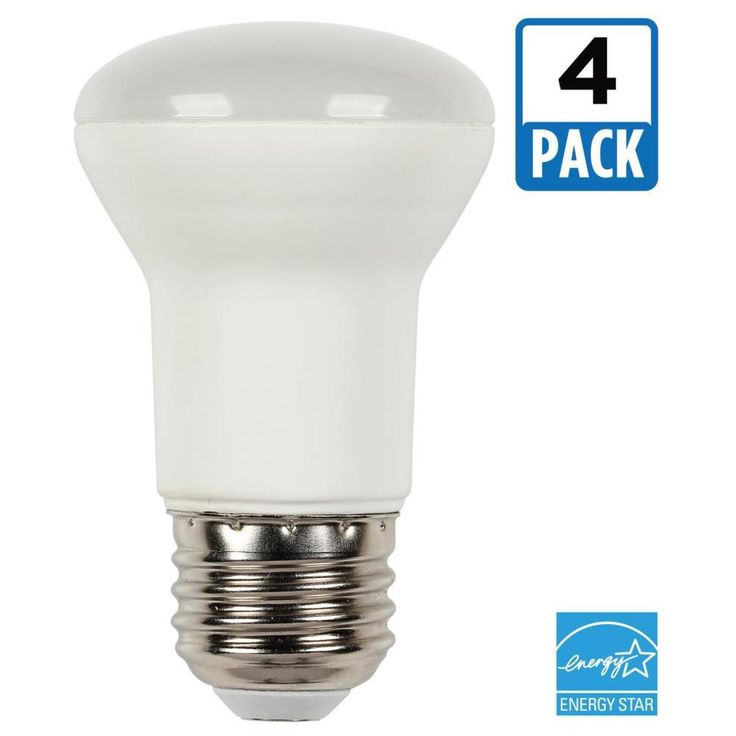 Westinghouse 45W Equivalent Soft White R16 Dimmable LED Light Bulb (4-Pack)