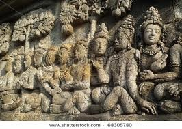 Borobudur sculpture
