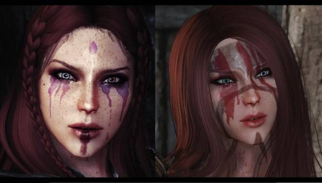 Beautiful face paint!! | This is a port of the original