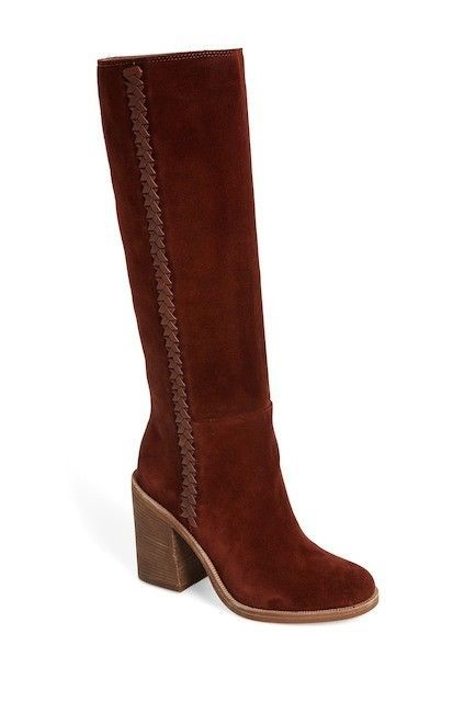 Womens Ugg Australia Maeva Mahogany Suede Boots Size 9 Style 1018941 #UGGAustralia #KneeHighBoots