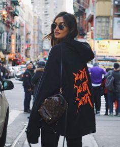Mini Louis Vuitton backpack ...chic detailing!