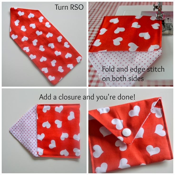 This Valentine's Day Fabric Envelopes Tutorial is the Perfect Way to Make Your Valentine a Little More Special and From the Heart this February 14th.