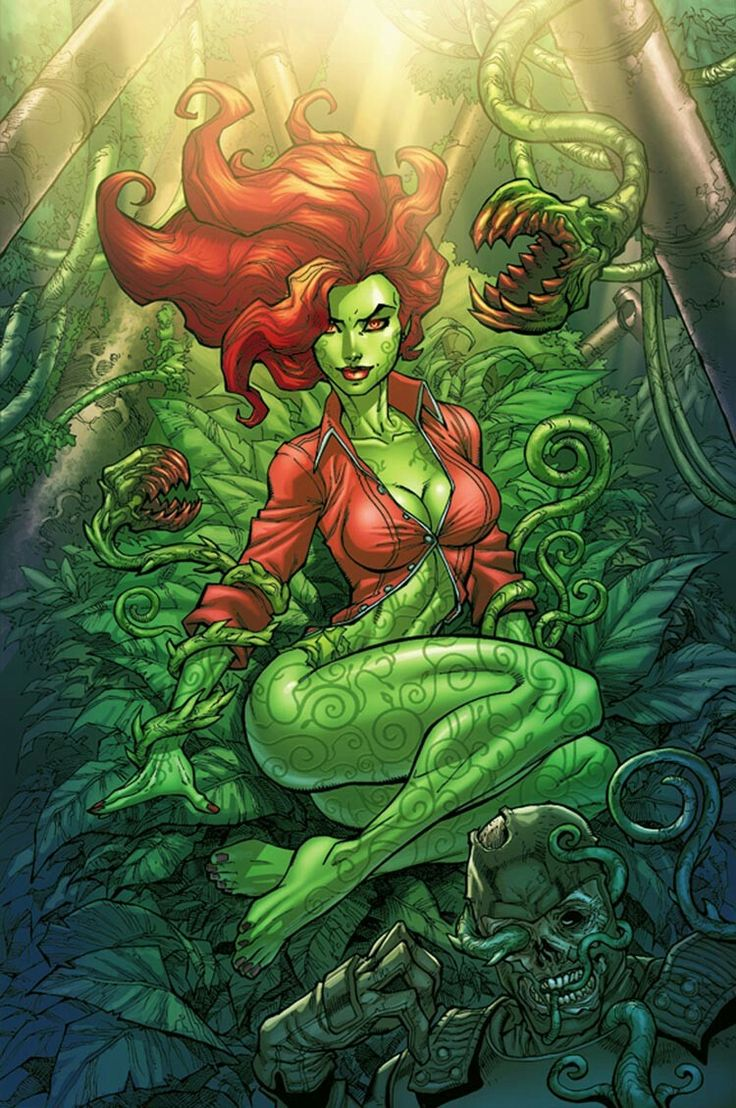 Poison Ivy. Superhero.Know why she's pissed, because everyone is dying. Forests, real food, pharmecopia, are gone. Have you never seen Fern Gully?