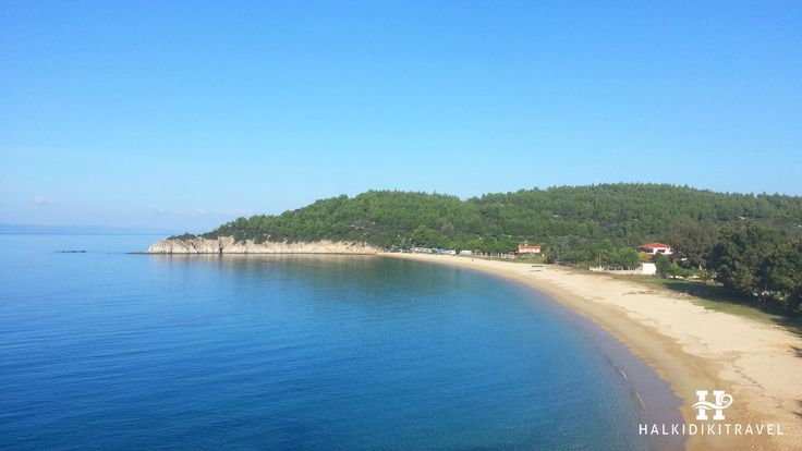 #Toroni #beach in #Halkidiki. Visit www.halkidikitravel.com for more info. #HalkidikiTravel #travel #Greece