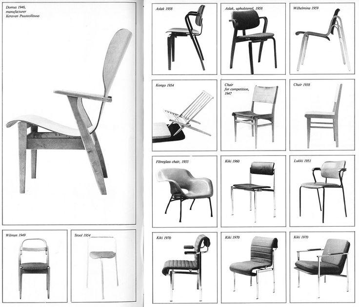 More chairs by Ilmari Tapiovaara | Flickr