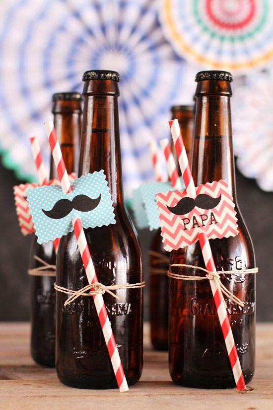 Fiesta Moustache DIY Día del Padre (¡con imprimible gratis!) - Megasilvita