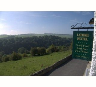 Lathkil Hotel, Over Hadden, Nr Bakewell.  Dogs come too!