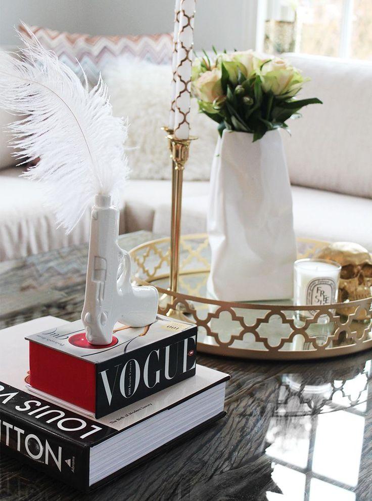 nettenestea annette haga interiør hjem hus gull stue bord