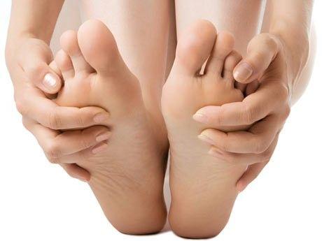 Cuidar dos pés no inverno