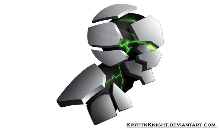 MechHead by KryptnKnight.deviantart.com on @DeviantArt