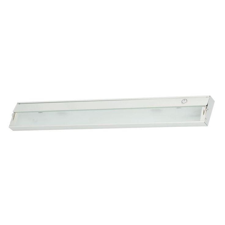 Alico Zeeline 4 Lamp Xenon Cabinet Light In White With Diffused Glass