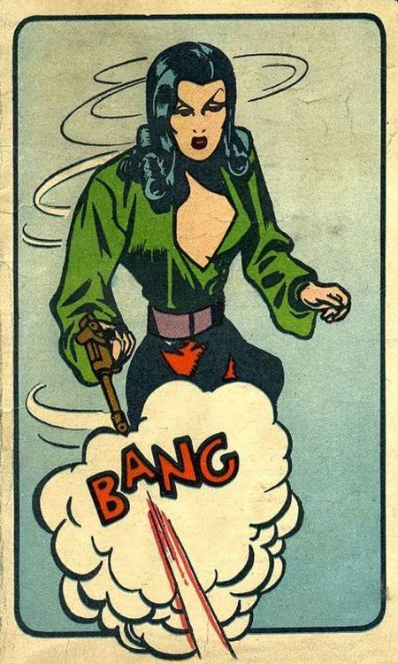 (via martin klasch: BANG)  Golden Age Comic Book Stories:Air Fighters Comics (1941-45)
