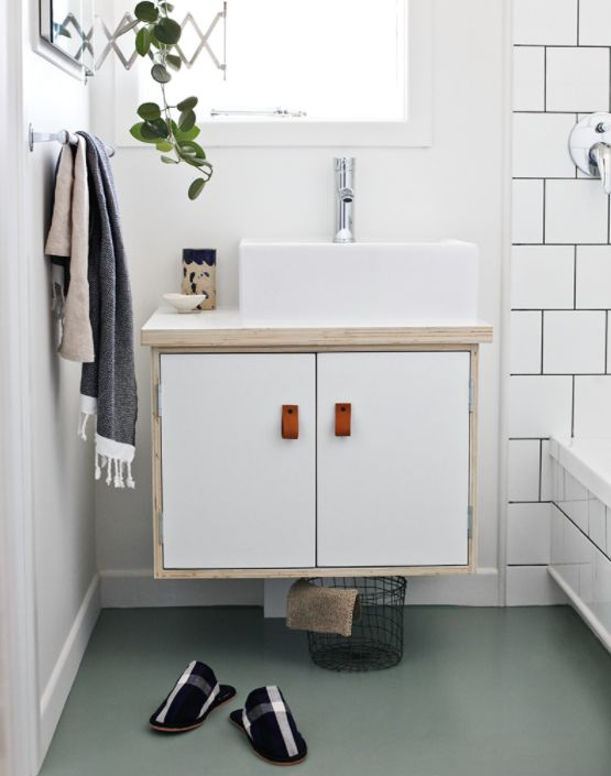 16 Stylish Bathroom Vanities You Won't Believe You Can DIY floating