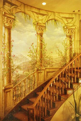237 best Inspirational Home Designs: Stairs, Murals images on ...