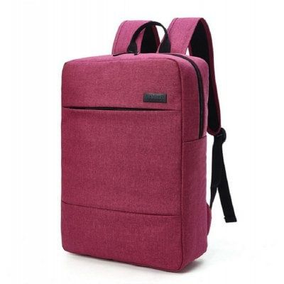 Waterproof Canvas Business Bag 15 Inch Laptop Backpack $41.24