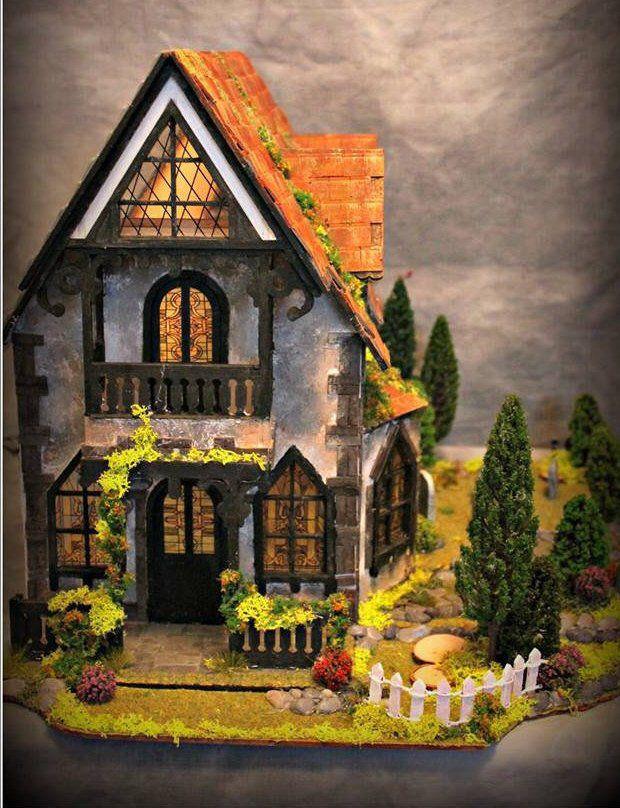 Anna Claypoole 3mm Birch Ply Wood Wooden Dolls House Kit