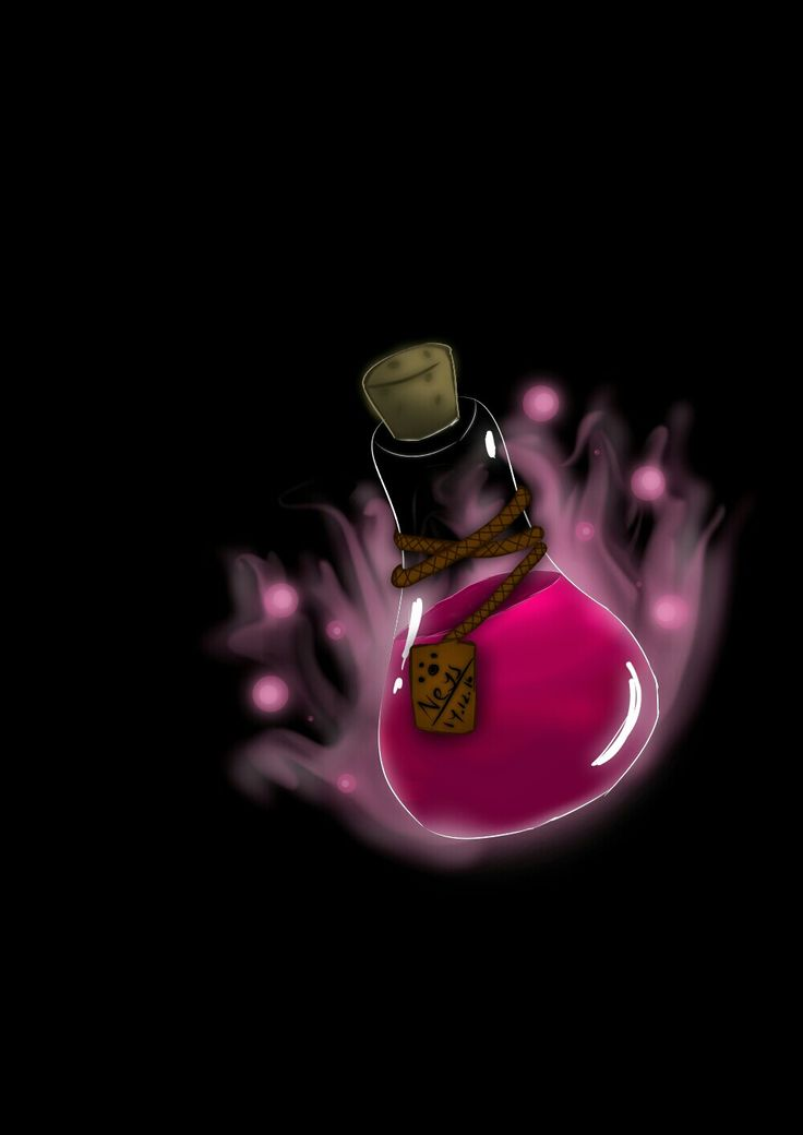 Trying make a potion 😅 #drawing #digitalart #potion #danger #try #pink