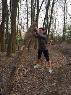 keep fit with BoNo: Opuštěný kmen stromu