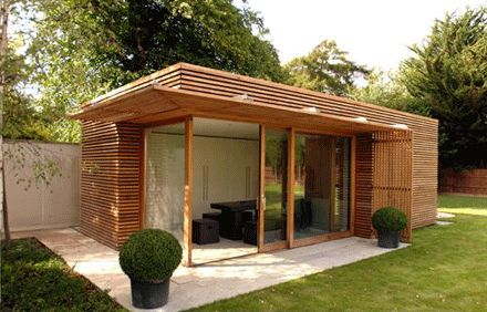 Modern design home plans on modern sunroom designs for Garden room additions