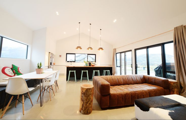 Ridd Family Eco Home - Jacks Point, Queenstown (Open Living)