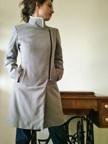 manteau by Hélène & M  (burda couture facile automne/hiver 2013)