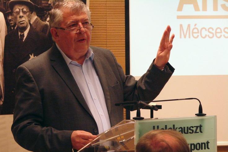 Prof. Dr. Szita Szabolcs, a Holokauszt Emlékközpont megbízott igazgatója az Anschluss konferencián