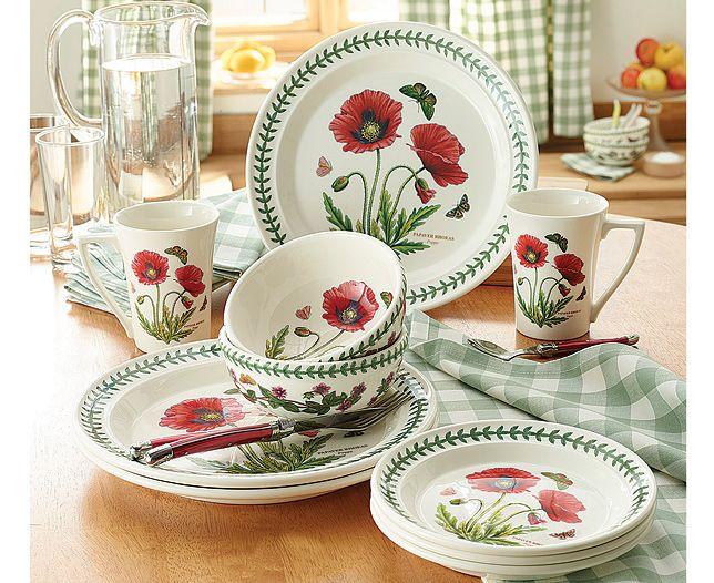 Portmeirion® Botanic Garden 25.5cm Dinner Plate. Dinner SetsPoppiesDinner PlatesDinner ...  sc 1 st  Pinterest & 61 best Portmeirion images on Pinterest | Portmeirion pottery Port ...