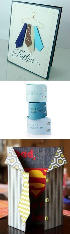 DIY Curiosas tarjetas para el Día del #Padre:
