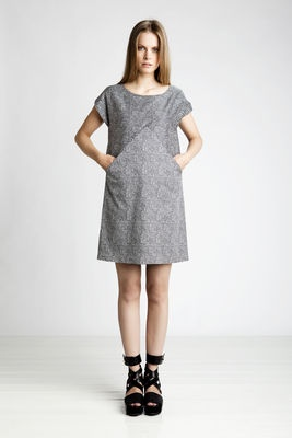 Marimekko dress - ooooh, I'd like one of these for myself, or maybe try to make something similar?