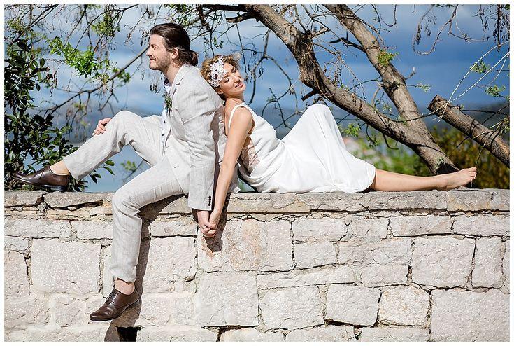 Entspannt heiraten in Kroatien - Inspirations-Shooting am  wilden Mittelmeer…