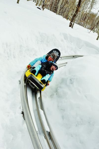 Okay we won't need passports but mom could finally sled down a hill w/o breaking ribs!! ;) Best Downhill Without Skis: Alpine Coaster, Park City, Utah