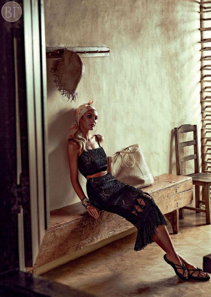 Кэндис Свейнпол для Vogue Brasil, январь 2014. - Вика Грин - стилист, гид по шоппингуВика Грин — стилист, гид по шоппингу