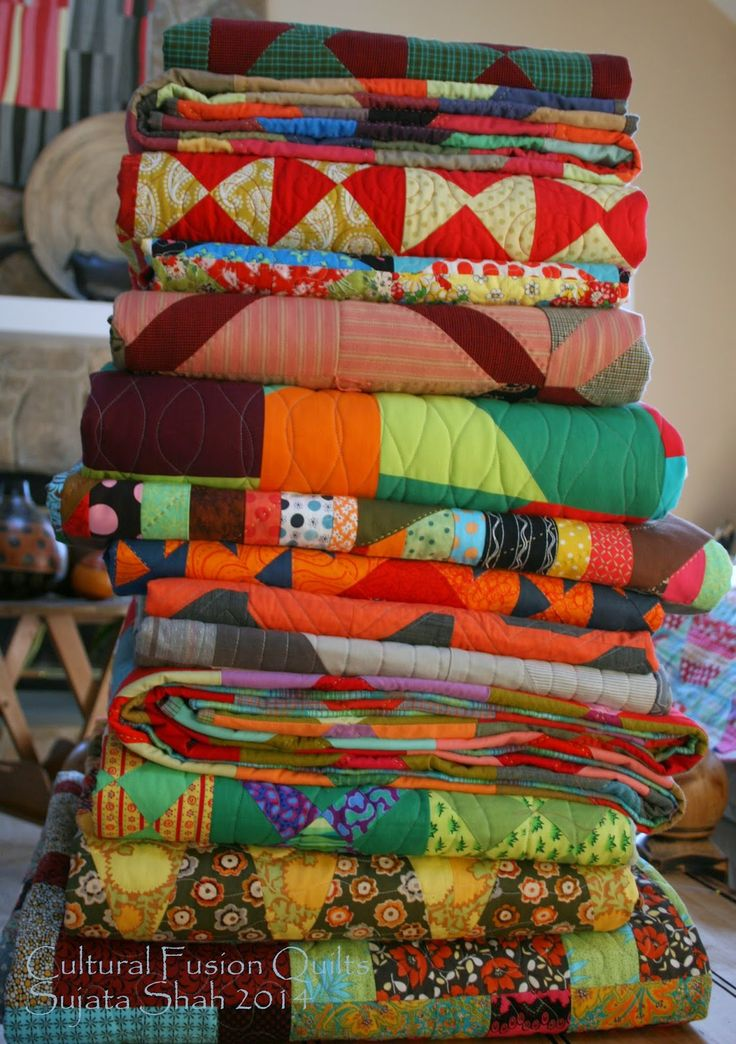 The Root Connection: The Stack - Cultural Fusion Quilts
