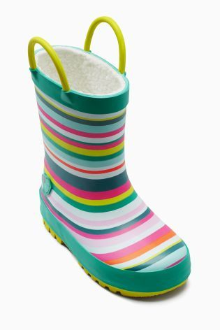 Buy Stripe Wellies (Younger Girls) online today at Next: Croatia