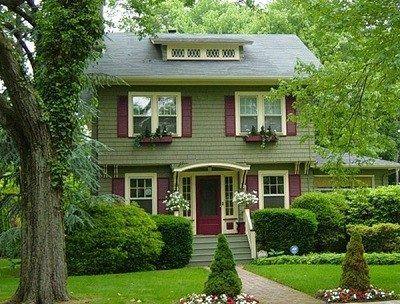 fachadas de casas chiquitas pero bonitas