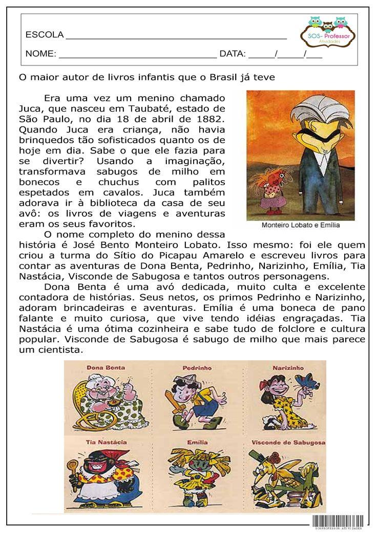 O maior escritor de livros infantis que o Brasil já teve.