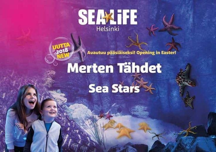 Sea Life, Amusement Park Linnanmäki, Helsinki, Finland, February 2018