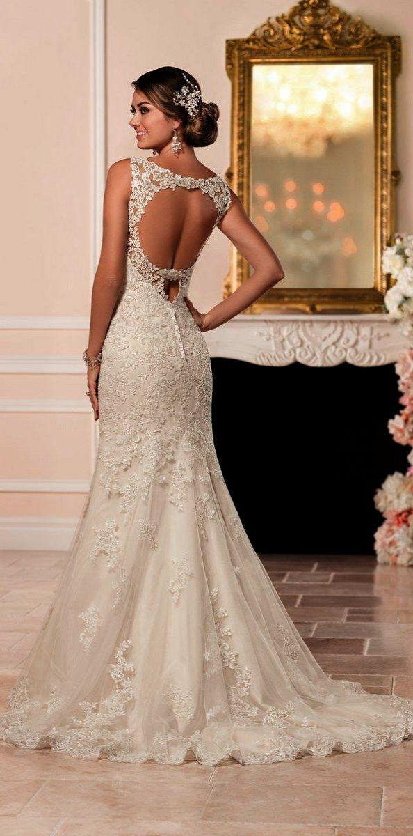 Lace Wedding Dresses Amazon Lace Wedding Dresses On Sale Fit And Flare Wedding Dress Wedding Dresses Size 14 Wedding Dress Styles