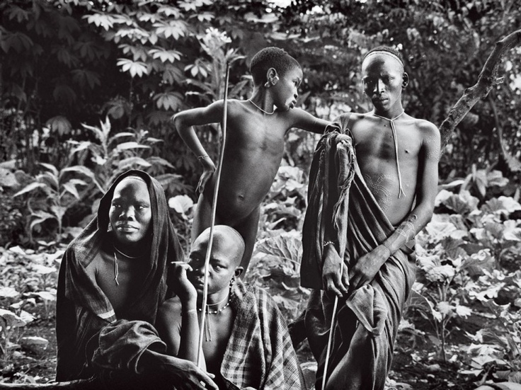 Omo River Valley tribes from Sebastião Salgado's forthcoming book Genesis. While some tribes create scars in geometric patterns for pure decoration, to relieve maladies, or to teach the endurance of pain, Surma men like these do so as a testament to their bravery.