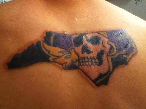 ECU tattoo