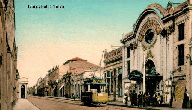 Imágenes de Chile del 1900: Talca